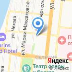 Пульс Аксарайска на карте Астрахани