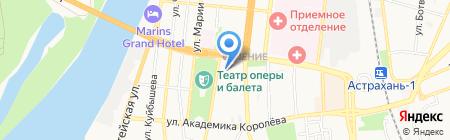 Начальная школа-детский сад №106 на карте Астрахани