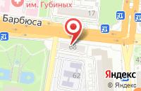 Схема проезда до компании Tikkurila в Астрахани