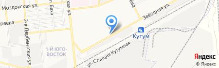 Штучка на карте Астрахани