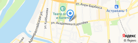 Астраханское художественное училище им. П.А. Власова на карте Астрахани