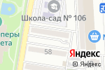 Схема проезда до компании Бархат в Астрахани