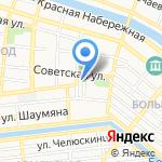Прокуратура Кировского района г. Астрахани на карте Астрахани
