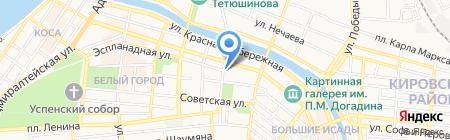 Детский сад №25 на карте Астрахани
