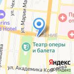 Виваколор на карте Астрахани