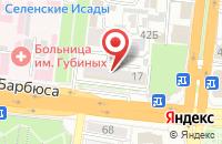 Схема проезда до компании Сбербанк России в Астрахани