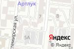 Схема проезда до компании ИнвестПромСтрой в Астрахани