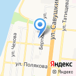 Детская школа искусств им. М.П. Максаковой на карте Астрахани