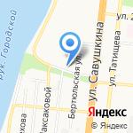 Мармелад на карте Астрахани