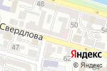 Схема проезда до компании КомпАС в Астрахани