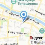 Астраханьрегионкачество на карте Астрахани