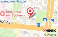 Схема проезда до компании МегОфф в Астрахани