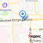 Библиотека пива на карте Астрахани