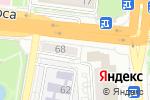 Схема проезда до компании Виваколор в Астрахани