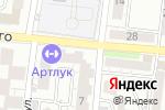 Схема проезда до компании Виват в Астрахани