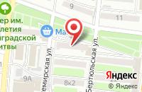 Схема проезда до компании Лагуна в Астрахани