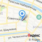 ENVOLEE на карте Астрахани