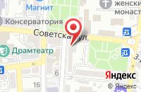 Схема проезда до компании ENVOLEE в Астрахани