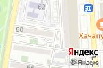 Схема проезда до компании Зима в Астрахани