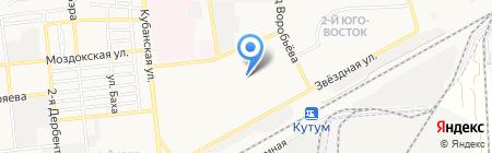 Детский сад №53 на карте Астрахани