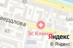 Схема проезда до компании Швейник в Астрахани