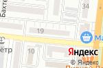 Схема проезда до компании Городская поликлиника №5 в Астрахани