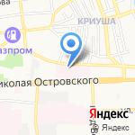 Управление по материально-техническому обслуживанию медицинских организаций на карте Астрахани