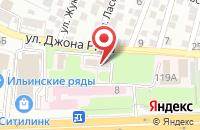 Схема проезда до компании Управление по материально-техническому обслуживанию медицинских организаций в Астрахани