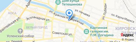 Эс Клиник на карте Астрахани