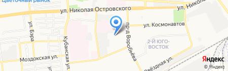Детский сад №58 Аленький цветочек на карте Астрахани