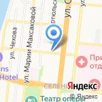 Городская поликлиника №5 на карте Астрахани
