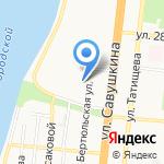 Центр развития ребенка-детский сад №99 на карте Астрахани