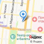 Комплекс на карте Астрахани