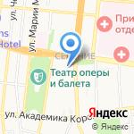 ТЭС на карте Астрахани