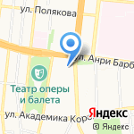 Деловой формат на карте Астрахани