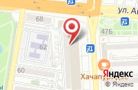 Схема проезда до компании TAGGSM в Астрахани