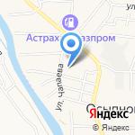 МИРО на карте Астрахани