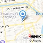 Ориго на карте Астрахани