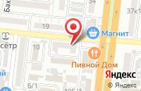 Схема проезда до компании Контакт Центр в Астрахани