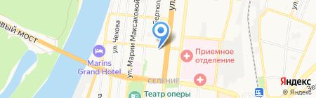 Единая социальная служба на карте Астрахани