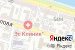 Схема проезда до компании Территория Безопасности в Астрахани