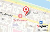 Схема проезда до компании Пеньков в Астрахани