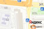 Схема проезда до компании AKS Shop в Астрахани