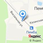 Почтовое отделение на карте Йошкар-Олы