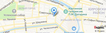 Мир вина на карте Астрахани