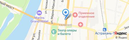 Новость на карте Астрахани