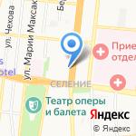 Грация на карте Астрахани