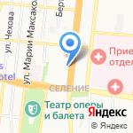 Центр временного содержания несовершеннолетних правонарушителей на карте Астрахани