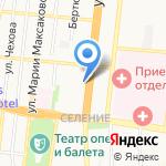 Военная Комендатура Астраханского гарнизона на карте Астрахани