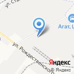 Морковка на карте Астрахани
